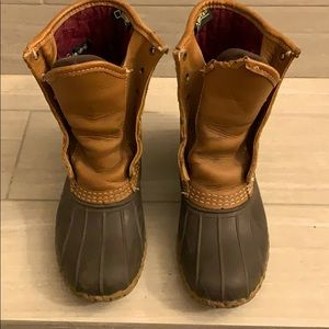 W's Insulated LL Bean Boots Winter Shoes Unlaced